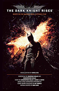 The Dark Knight Rises novel book