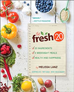 The Fresh 20:20 Ingredient Meal Plans book